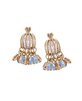 1044700 - <ER1061_DE09> [handmade] antique cage earrings