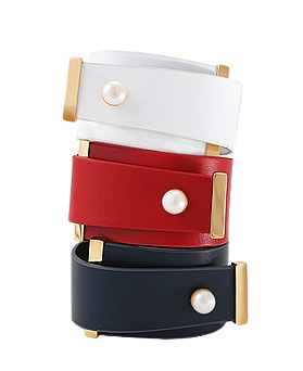 1044713 - <BC593_S> [Sold out] rock modern leather bracelet