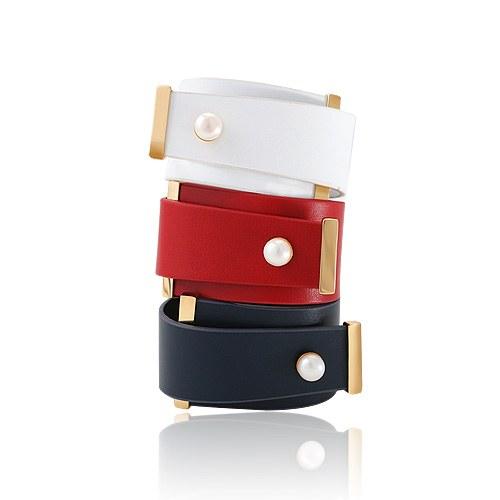 1044713 - <BC593_HB04> Rock modern leather bracelet