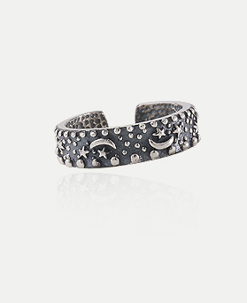 1044756 - <RI616_AD13> [Silver] night antique ring
