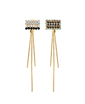 1044760 - <ER1079_GB06~10> Friday cubic earrings