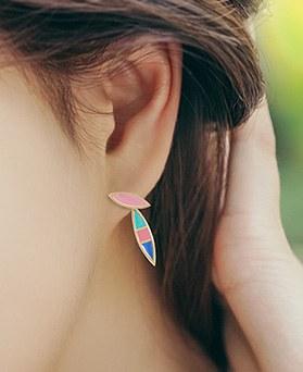 1044761 - <ER1080_S> Bunny drop earrings
