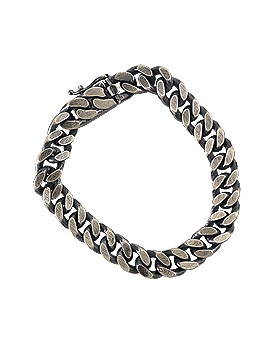 1044788 - <BC608_B> [Silver] saint chain bracelet