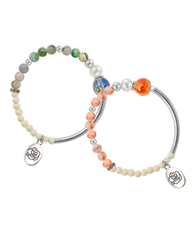 1044812 - <BC613_S> Gemstone bracelet topping