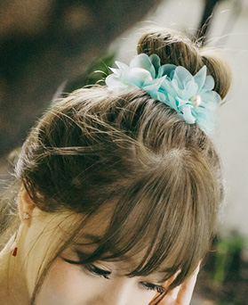 1044857 - <HA492_EG07> [handmade] Poly chiffon hairpin