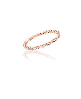 1044873 - <RI634_JA14> [Silver] bling cubic simple ring