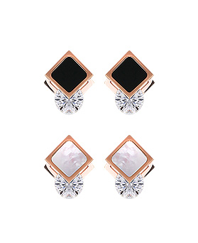 1044901 - <ER1117_GB06~10> [Stainless steel] light crystal earrings