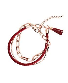 1044904 - <BC629_HF07> Delia leather bracelet