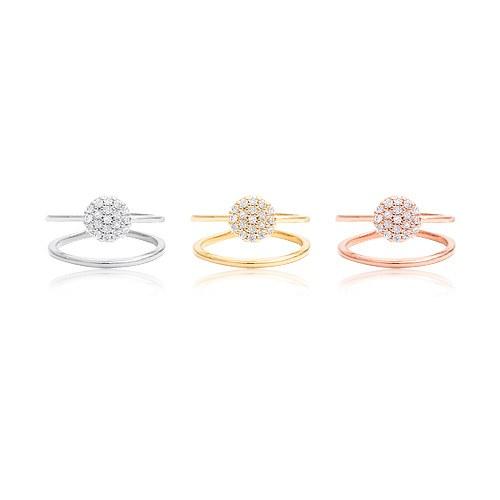 1044912 - <RI640_S> [Rounds] Aurora round knuckle ring