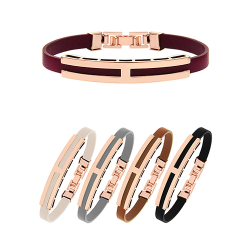 1044920 - <BC631_HC11> HI leather bracelet