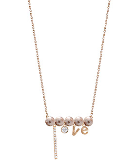 1044932 - <NE348_IF08> feliz pearl necklace