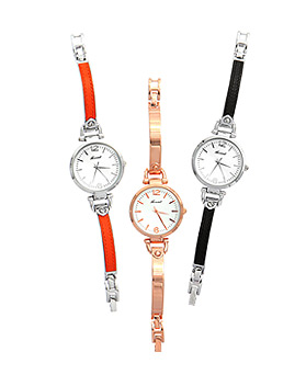 1044934 - <WC106_S> [Out of stock imminent] chic metal watches