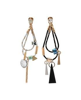 1044935 - <ER1129_CG20> [handmade] Classic two-way earrings