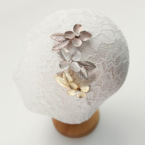 1044937 - <HA498_FI04> ethnic Flower hairpin