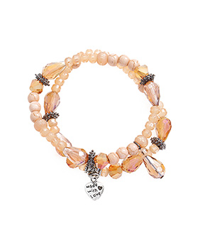 1044945 - <BC632_HH10> [2Piece 1set] ethnic lovely bracelet