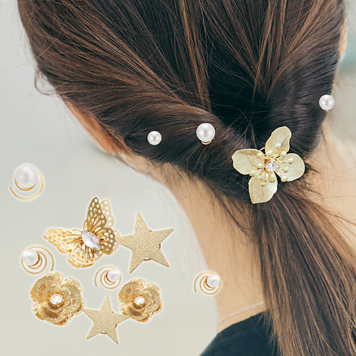 1044946 - <HA500_FI07> Snail back pendente hairpin