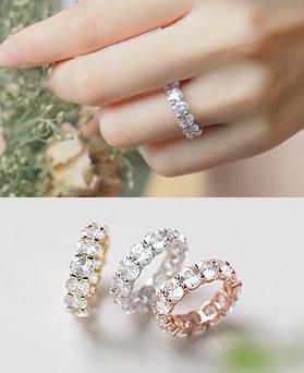 1044968 - <RI649_AF01> Glitter ring