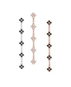 1045034 - <ER1150_DL09> [Silver Post] Flower unique earrings