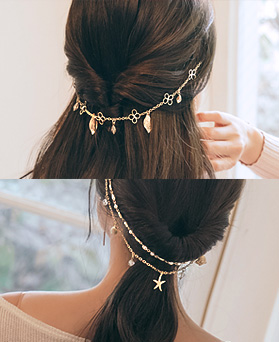 1045036 - <HA505_FB00> Speech back pendente hairpin
