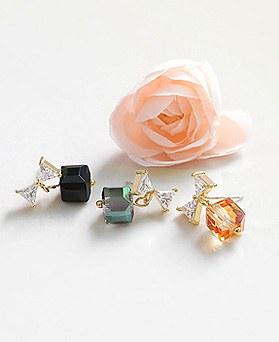 1045058 - <ER1160_DC28> [Silver Post] shine cute earrings