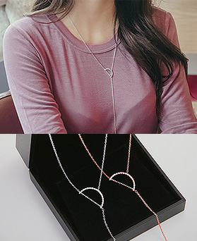 1045067 - <NE367_S> Chic long necklace