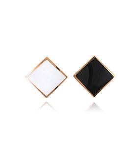 1045098 - <ER1174_CE06> [Stainless Steel] Semi Steel Earrings