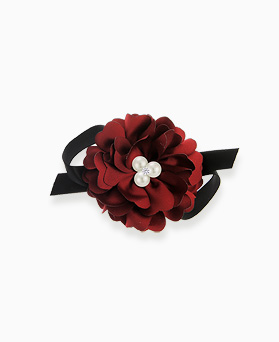 1045175 - <HA508_S> Maple Pearl Flower hairpin