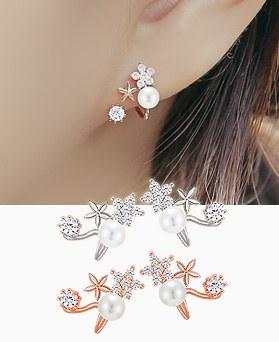 1045199 - <ER1195_CB15> [Silver Post] Mini Dream earrings