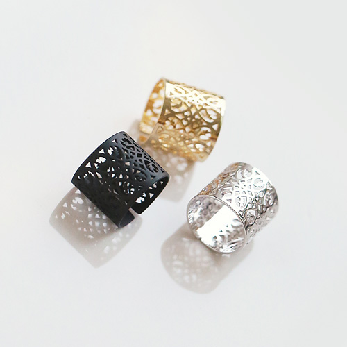 1045166 - <RI665_AE09> wide chic ring