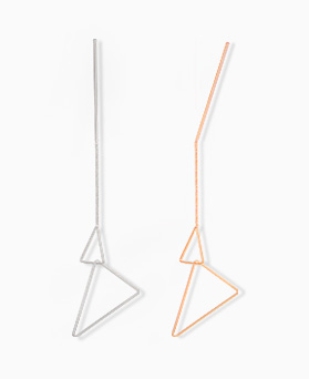1045225 - <ER1196_CH11> triangle drop earrings