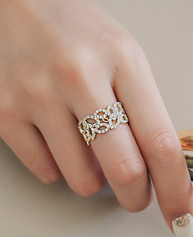 1045256 - <RI668_AE02> 정 Leaf ring