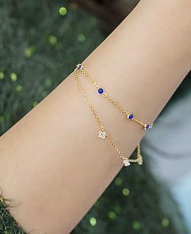 1045265 - <BC645_HB06> sapphire beach bracelet