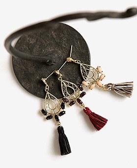 1045285 - <ER1212_CA13> belle tassel earrings