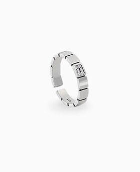 1045311 - <RI673_AA10> [Silver] mood square ring