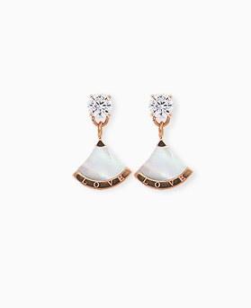 1045292 - <ER1223_CG22> [Stainless steel] lovely ginkgo earrings
