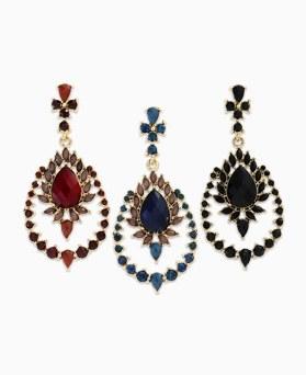 1045395 - <ER1227_CB08> Vvid volume drop earrings