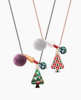1045403 - <NE387_BE07> Hello Christmas necklace