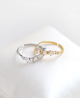1045412 - <RI681_S> [Mold out] angel muse ring