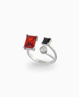 1045407 - <RI684_JC09> [Silver] Delight ring