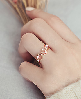 1045458 - <RI678_S> [Sold out] Cobblestone ring