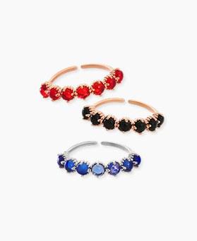 1045462 - <RI679_S> Fruits gemstone ring