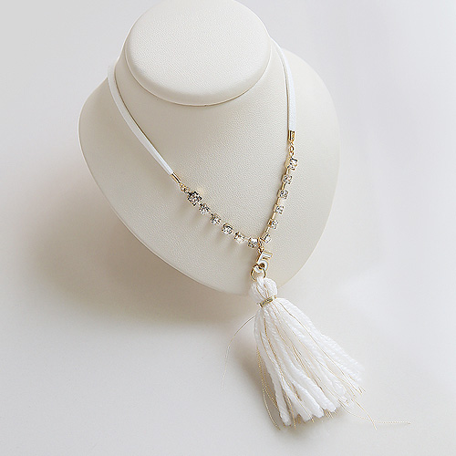 1045482 - <NE388_IE15> treasure tassel necklace