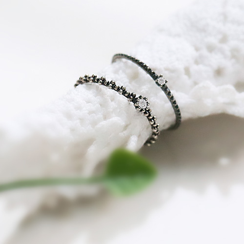 1045493 - <RI676_AD07> [Silver] lovely vintage ring