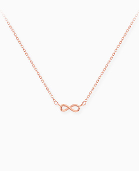 1045496 - <NE398_BA13> Mini infinity necklace
