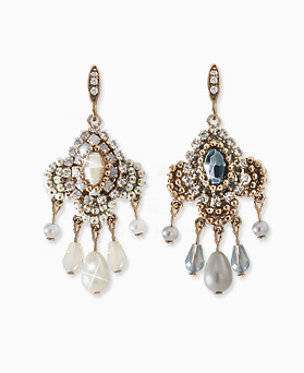 1045507 - <ER1251_GJ27> [handmade] [Silver Post] dolce chandelier earrings