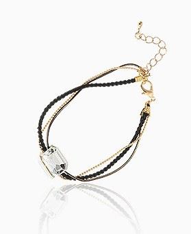 1045520 - <BC650_IG13> chic square bracelet
