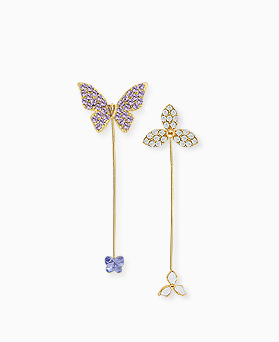 1045543 - <ER1259_GK28> Humming stick earrings
