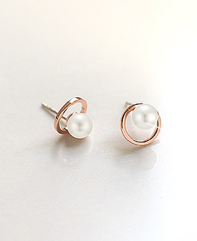 1045557 - <ER1270_FH02> [clip type] sweet pearl earrings