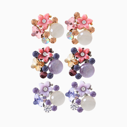 1045559 - <ER1273_CA18> sweet garden earrings