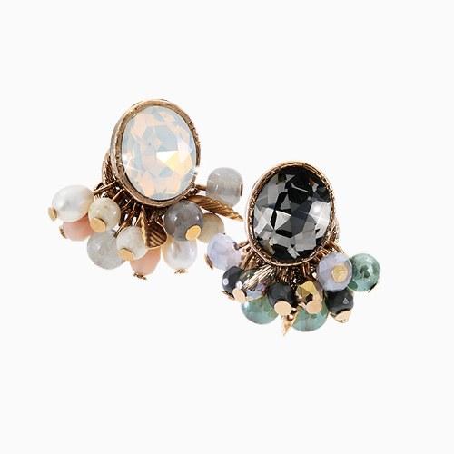 1045563 - <ER1290_DH00> [handmade] Adela two-way earrings